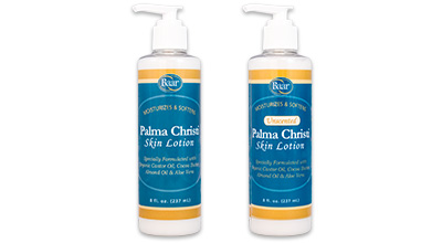 Palma Christi Scented and Unscented Skin Lotion
